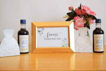 Bridal Shower Party Favor