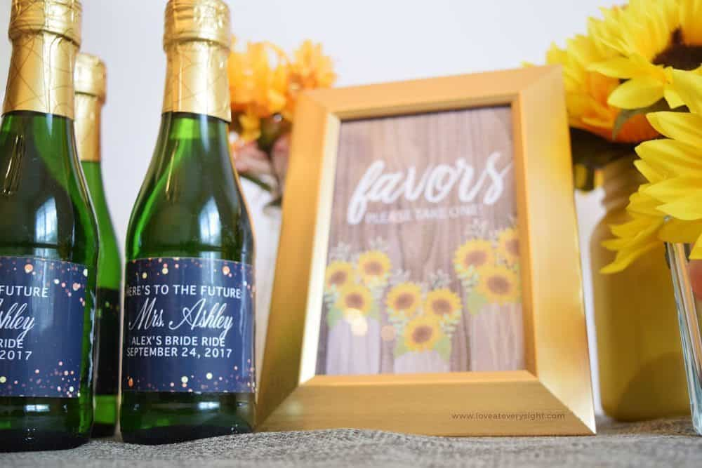 Blog LoveAtEverySight Celebrating Your Most Loved Moments - Mini champagne bottle labels template