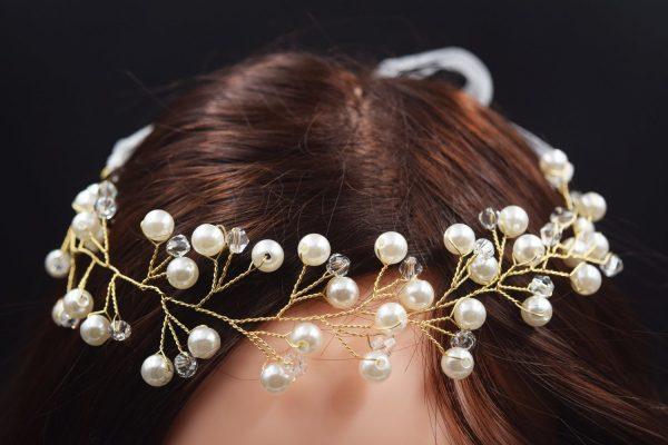 Elegant Wedding Vines Bridal Crown