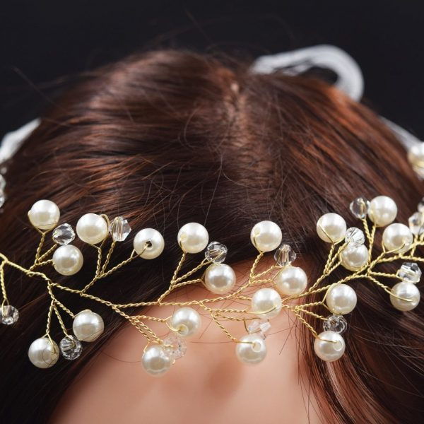 Elegant Wedding Vines Bridal Crown