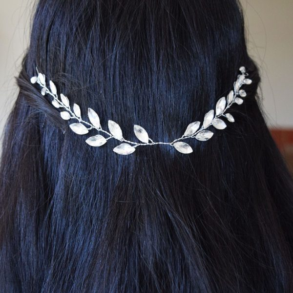Wedding Bridal Crown Vines with Hairpins