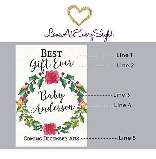 Best Gift Ever Wine Bottle Label Stickers