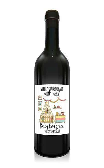 Decorate with Me Wine Bottle Label Stickers