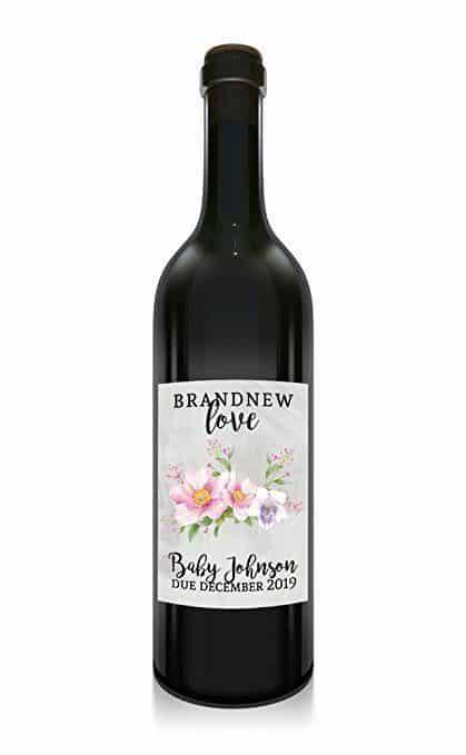 Brand New Love Wine Bottle Label Stickers
