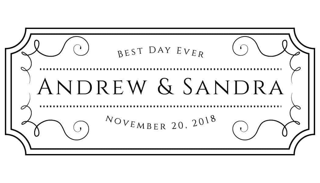Best Day Ever Mini Champagne Wine Bottle Custom Label Sticker for Wedding Gift, Engagement, Bridal Shower, Bachelorette Party, Elopement Invitation - Specialized Personalized Bespoke Set of 8
