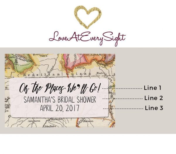 Party Favors, Thank You Gift and Event Invitations - Set of 8 Weatherproof Wine Labels
