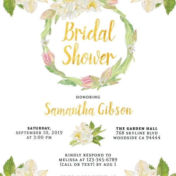 Bridal Shower Invitation Cards, Bridal Shower Cards, Bridal Shower Printable, Beach Bridal Shower