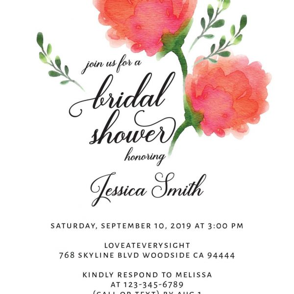 Bridal Shower Invitation Cards, Bridal Shower Cards, Bridal Shower Printable, Rustic and Bohemian Bridal Shower,Tea Party,Garden Party