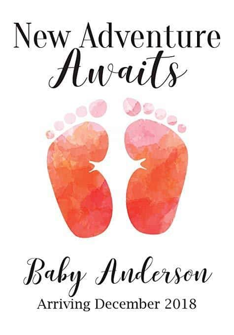 """Baby Steps"" Wine Bottle Label Stickers"
