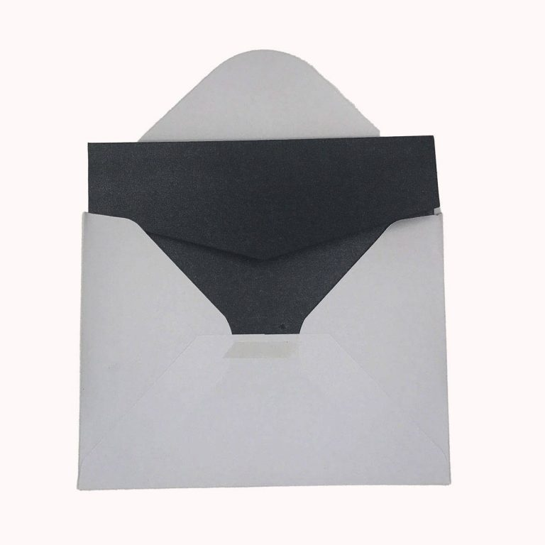 "Pocket Fold Wedding Envelopes 5.5"" x 7"" (Matching White Envelopes Included)"