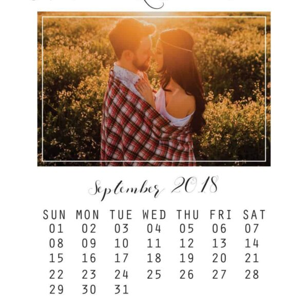 Simple Save the Date Cards, Add Your Own Photo
