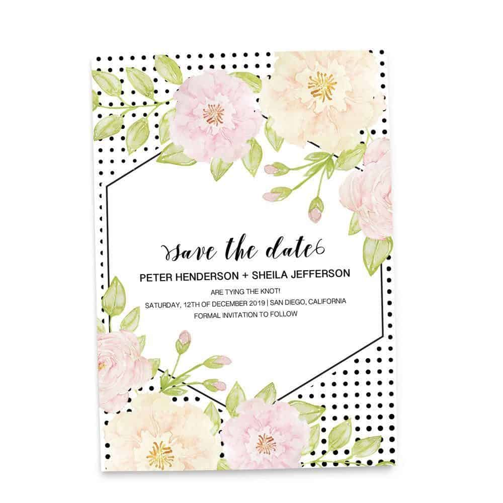 Save the Date Cards, Personalized Wedding Announcement Save the Date Cards
