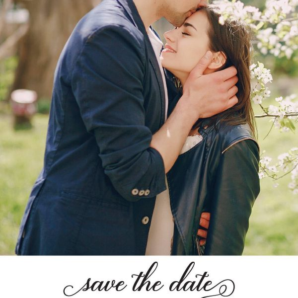 Wedding Save the Date Postcards with photo, Wedding Save the Date Post Cards, Save the Date Cards, Invite your family and friends, Add Your Photo