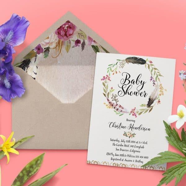 Baby Shower Invitations, Baby Shower Card, Baby Shower Invites babyshower2