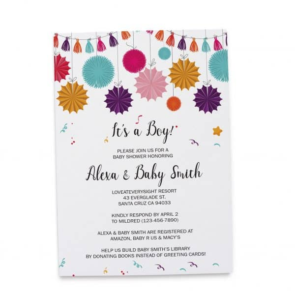 Baby Shower Invitation Cards, Printable Baby Shower Card, Unique, Simple, Gender Neutral Baby Shower Invitation Cards babyshower64