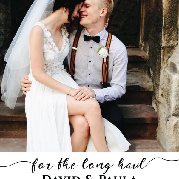 For the Long Haul, Elopement Cards, Add Your Own Photo