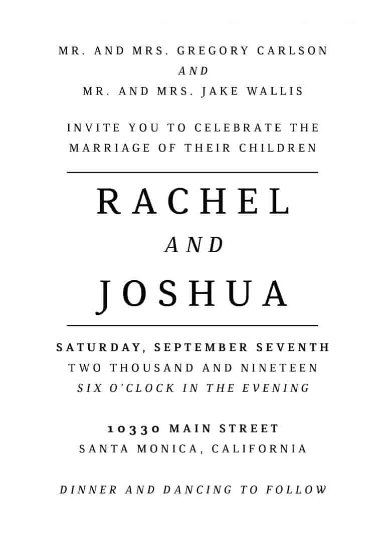 Simple B&W, Wedding Invitation Cards with RSVP postcards Branches, Wedding Invitations, Wedding Sakura, Cheap Wedding Invitations