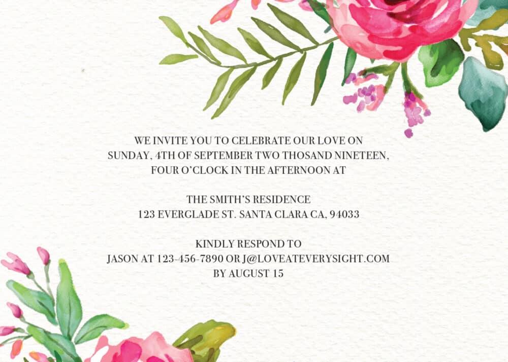 Rustic Elopement Reception Card, Wedding Invitation Reception Card, Elopement Invitation Card elopement30